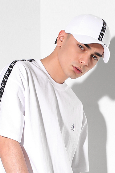 s sy tape ultra buckle cap white